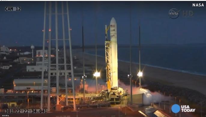 Video Roket NASA Meletup Ketika Berlepas (Antares)