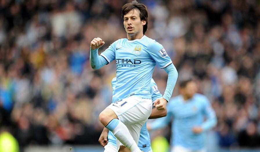 Liga Inggris, Hasil Pertandingan, Man.City, David Silva