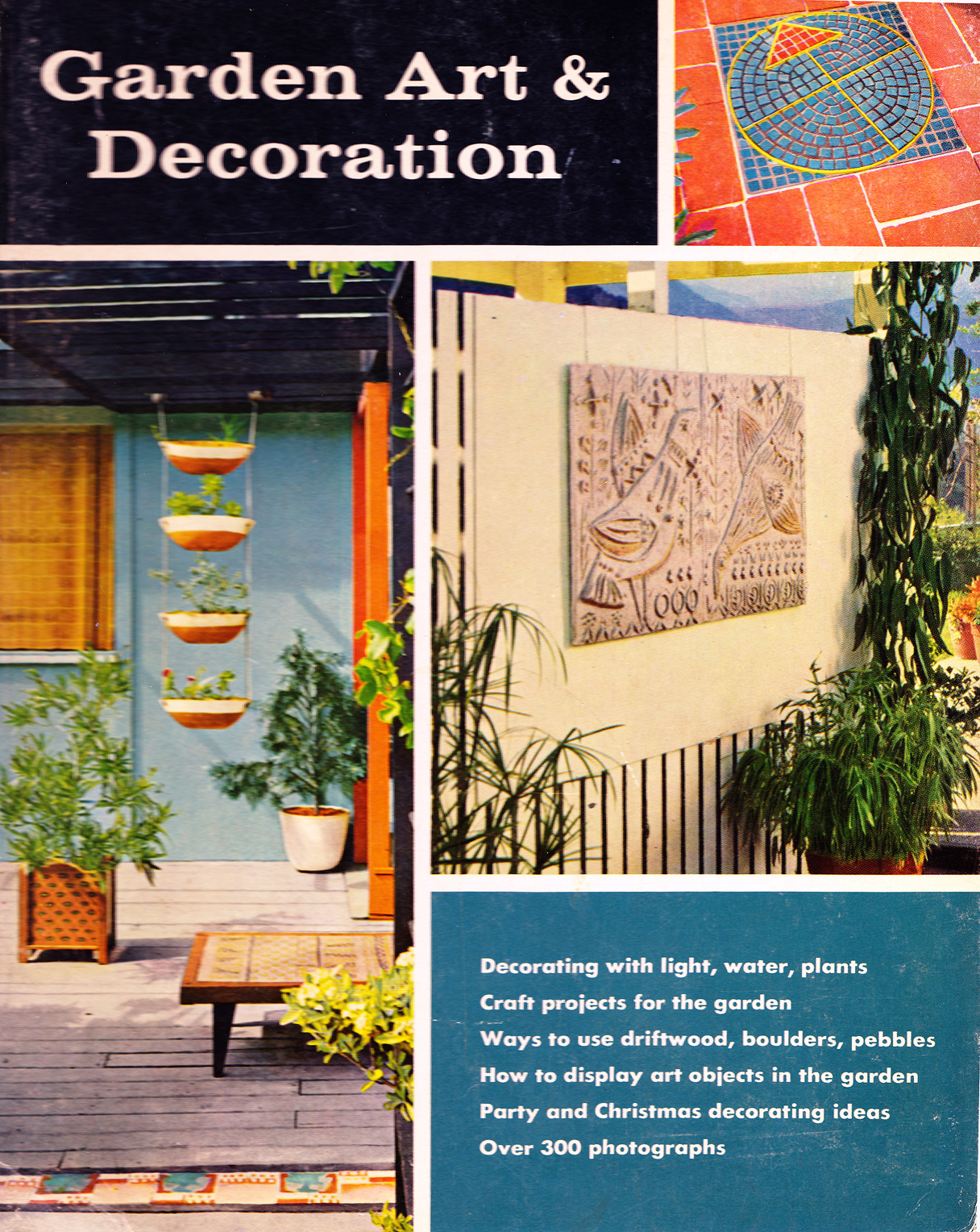 Retro rockets create your own mid century garden walls for Design your own garden