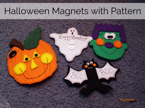 Decorating Ideas > Cute Halloween Magnets Free Pattern  Housewife Eclectic ~ 015650_Halloween Door Magnets
