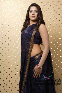 tollywood young actress and model meenal gorgeous looks in a revealing saree