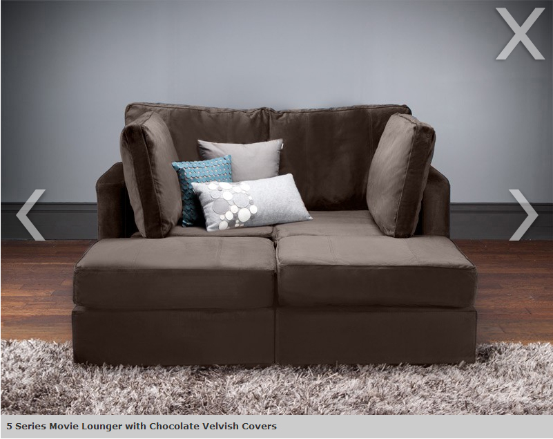 5 series arrangement from lovesac 4 bases 5 sides total specifically this set but it was on sale and had an extra side thrown in for free - Lovesac Sofa