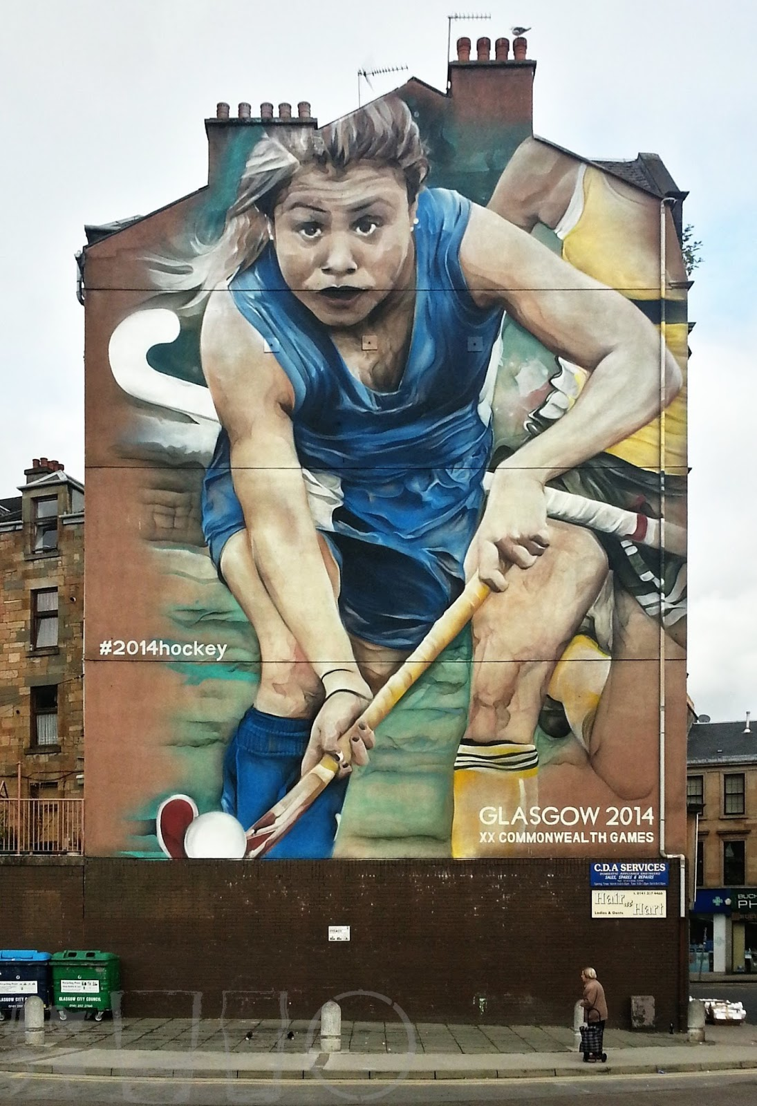 #2014hockey , Glasgow