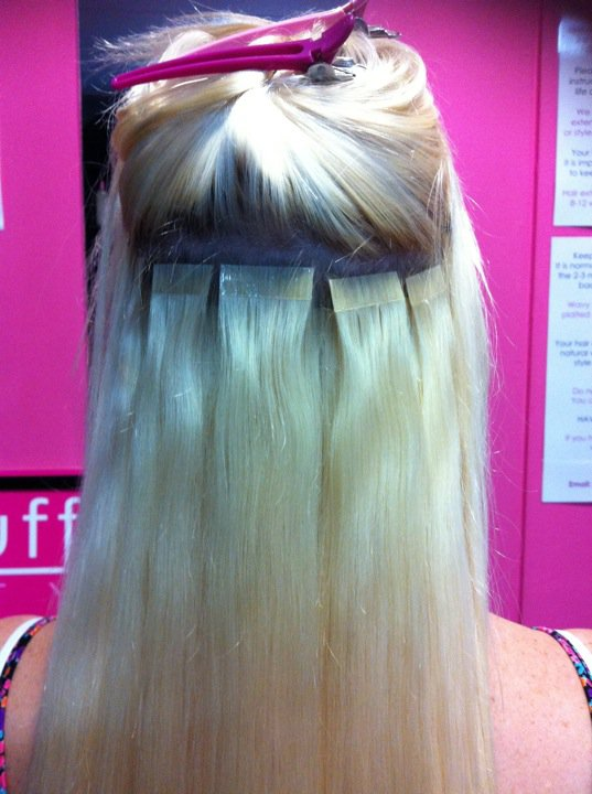Placement Tape Hair Extensions Tape Hair Extensions