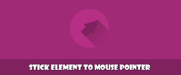 Stick element to mouse pointer