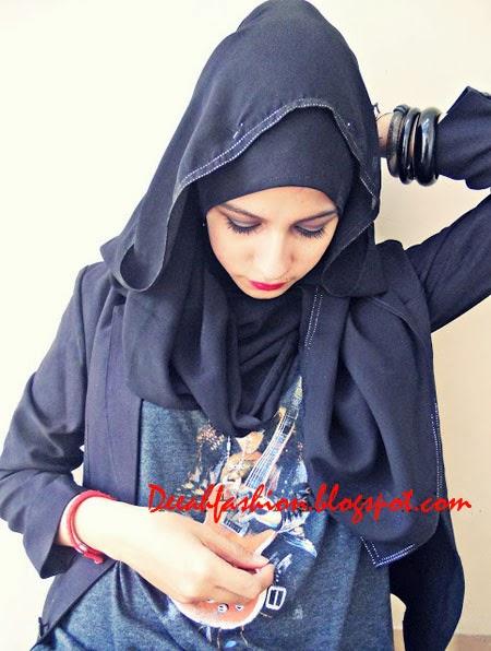 Gaya Jilbab Rock Trend Jilbab Populer