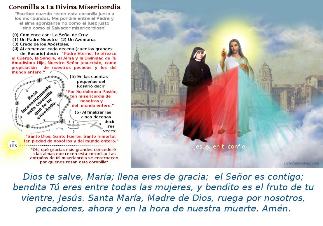 imagen de Jesus con santa faustina