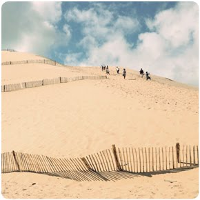 Largest sand dune in Europe