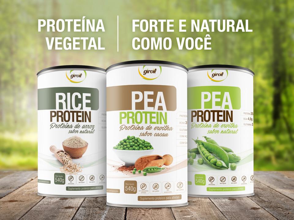 Família Veggie Protein Giroil