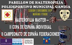 II Copa de España Máster & II Cto. España por Federaciones Máster: