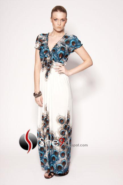 Maxi dress designs 2012