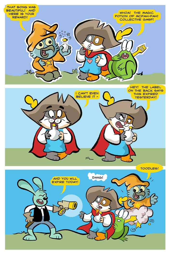 strip cody comic character