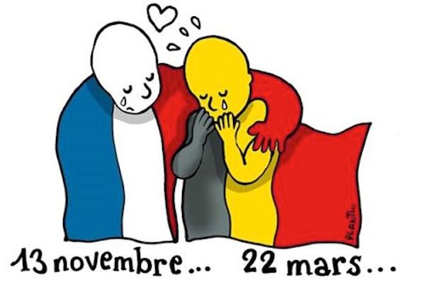 """Bruxelles, Paris... """"On est tous des européens"""""""