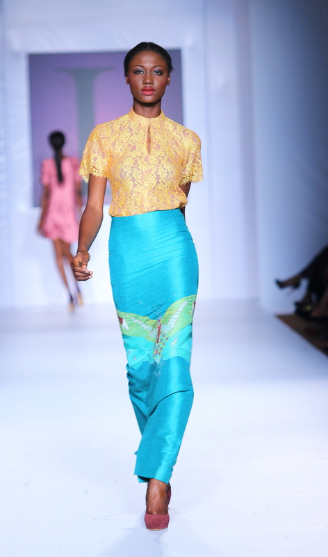 Mtn Lagos Fashion and Design Week 2012: Lanre Dasilva Ajayi  nigerian fashion ciaafrique