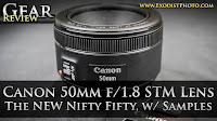 Canon 50mm f/1.8 STM Lens Review With Photo & Video Samples, The NEW Nifty Fifty | Gear Review