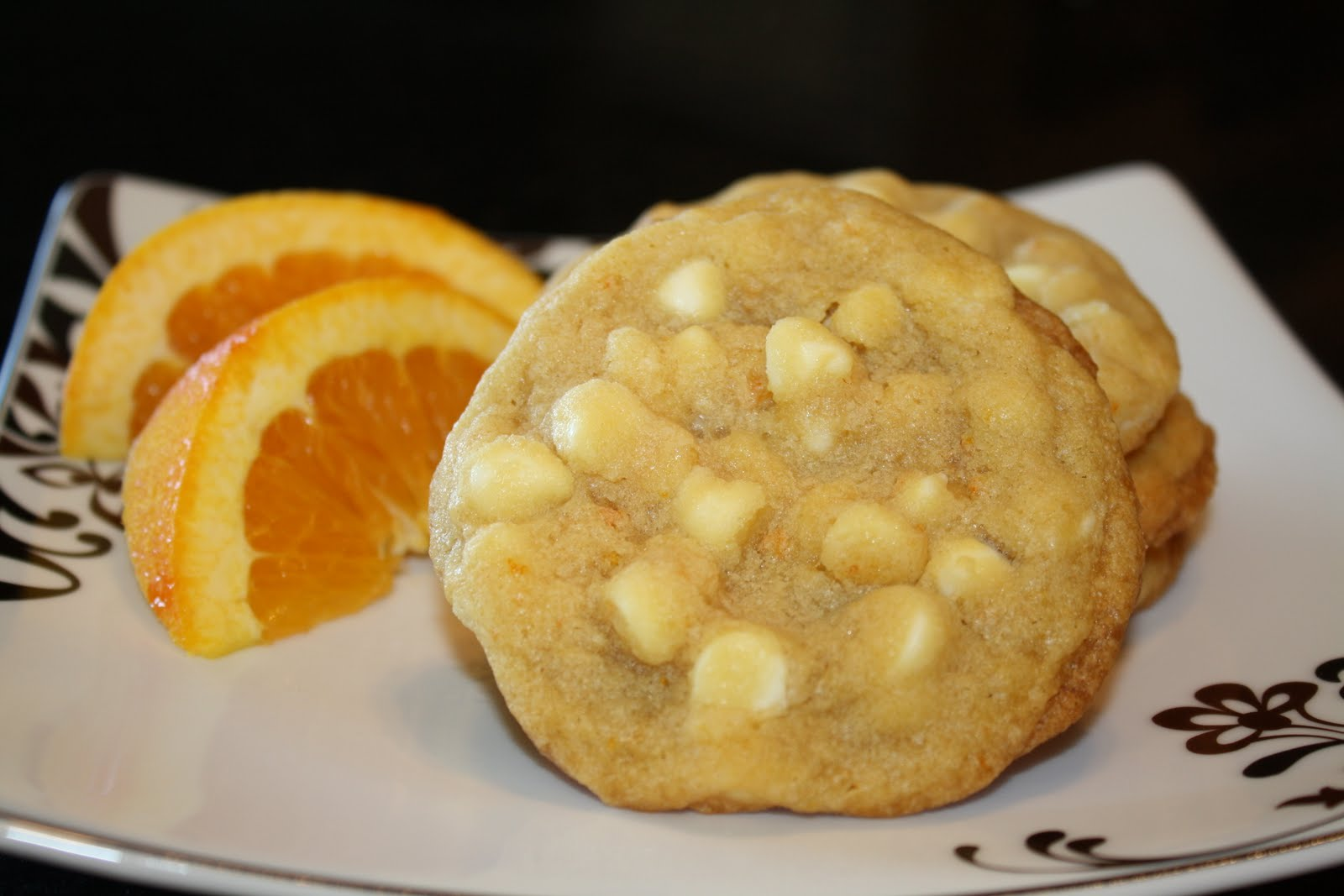 Seasoned with Love: White Chocolate Orange Cookies