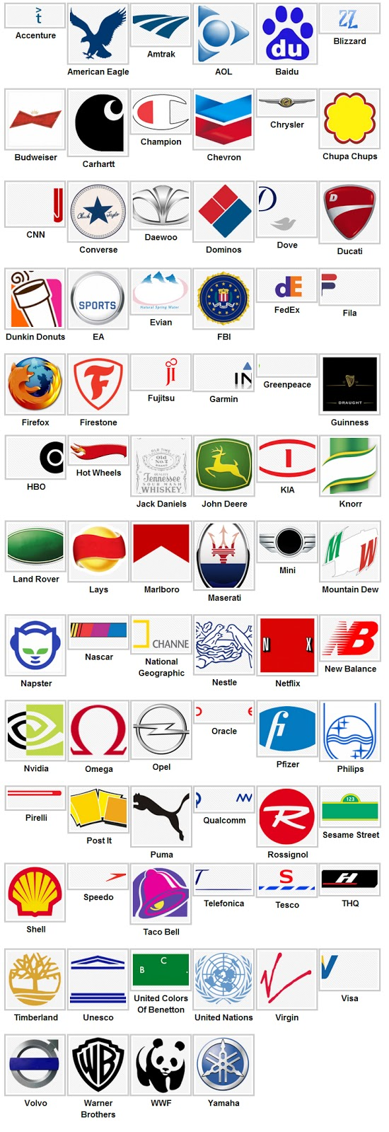 logos level 3 Logo Quiz Answers 2013