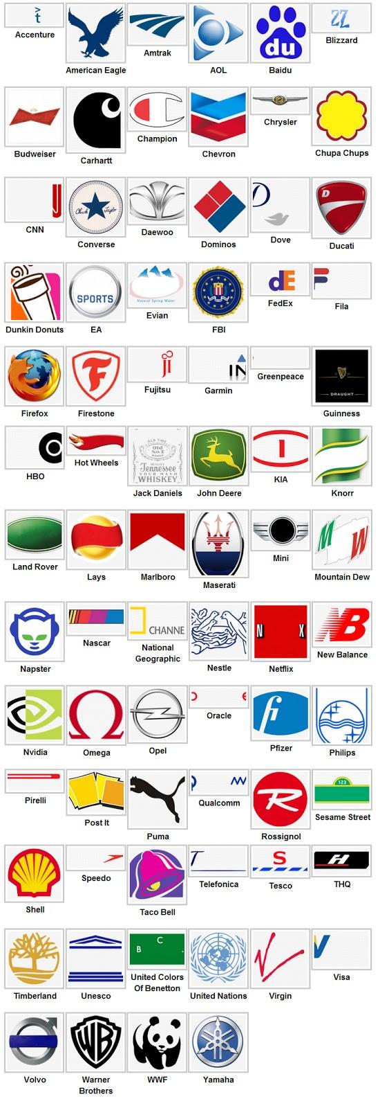 logos level 3 Logo Quiz Answers 2013