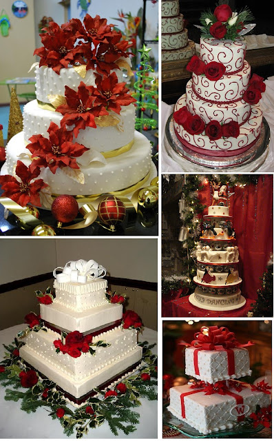 torte nuziali invernali natalizie winter christmas wedding cakes inspiration board