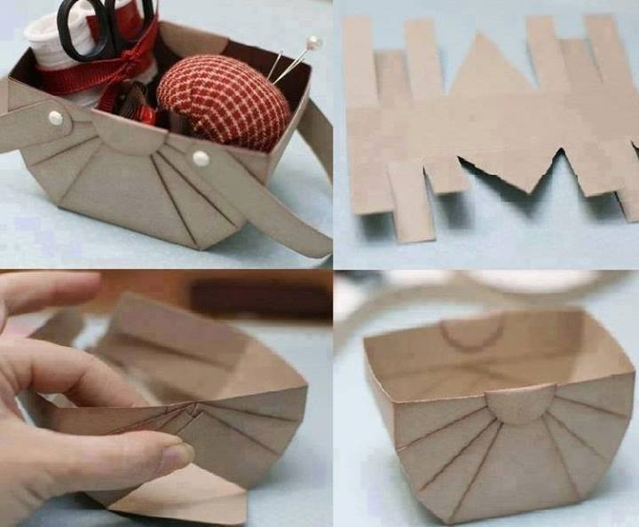 4 Tutorials Steps Of Used Paper Items Diy | Fashion