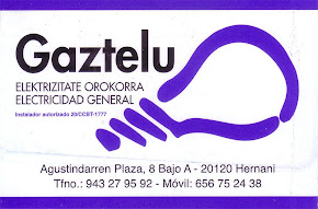ELECTRICIDAD GAZTELU