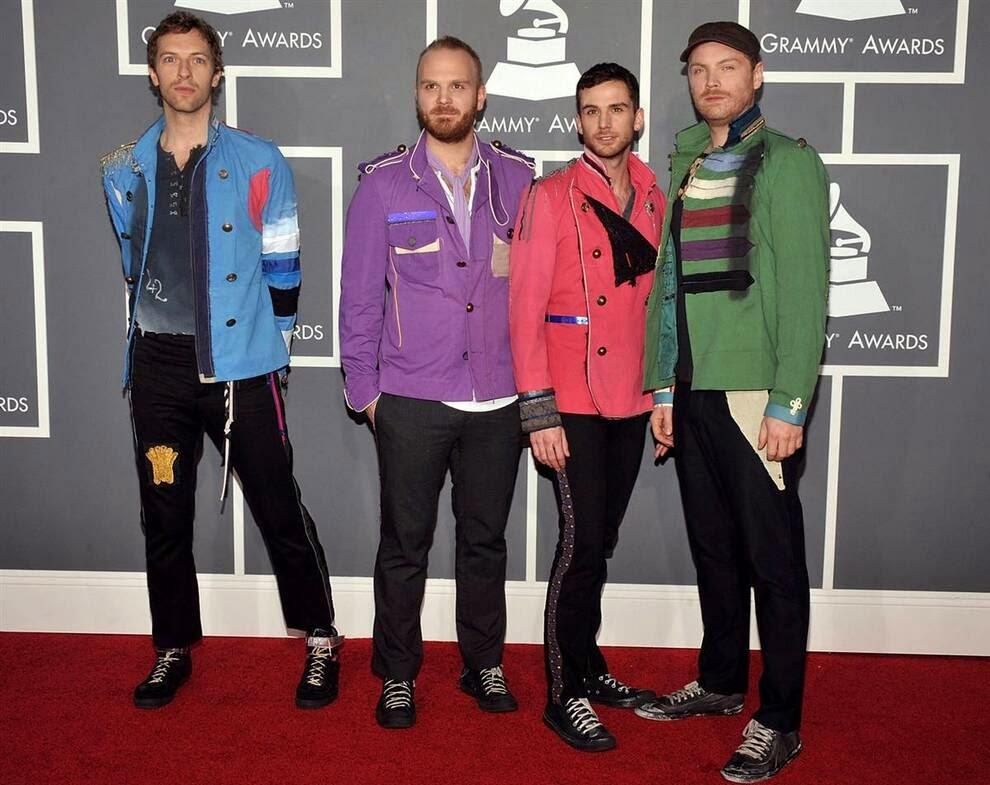 Группа «Coldplay»,  Лучшие и худшие наряды знаменитостей 2014