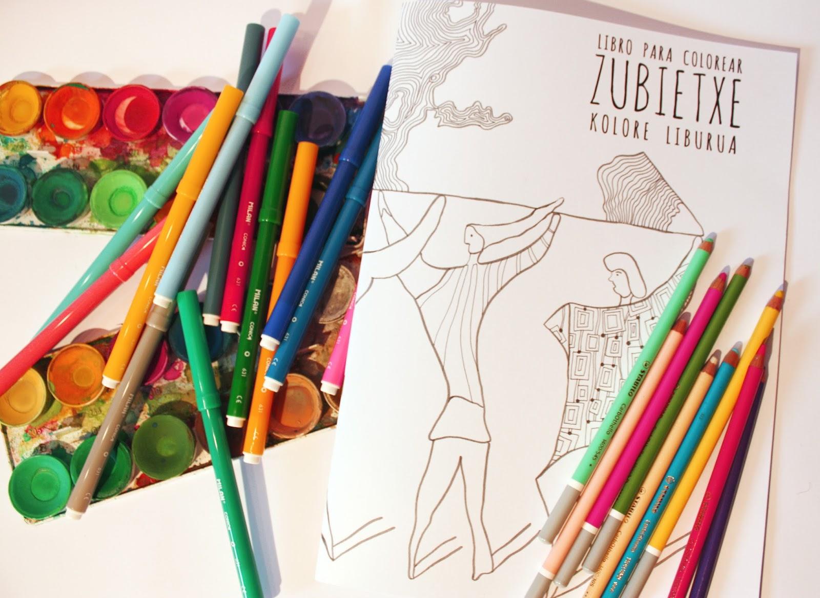 el TAZ: Libro para colorear Zubietxe. Kolore Liburua