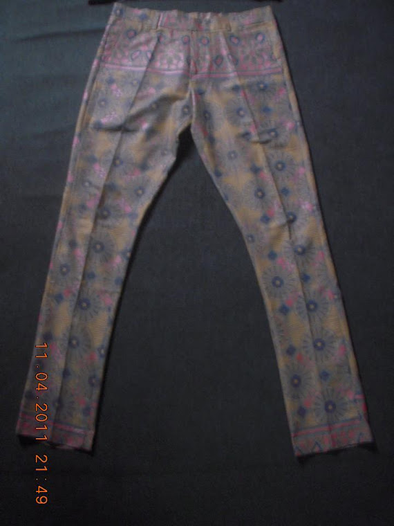 ANKARA FASHION TROUSER