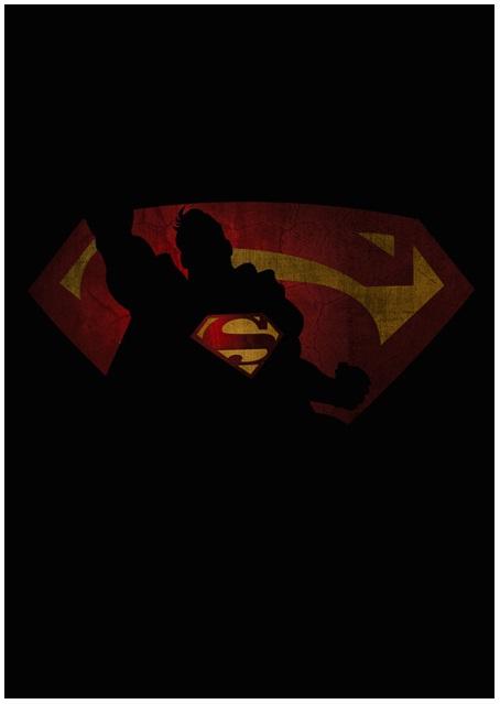 Lily's Factory ilustrações quadrinhos super heróis marvel dc sombras minimalistas Superman