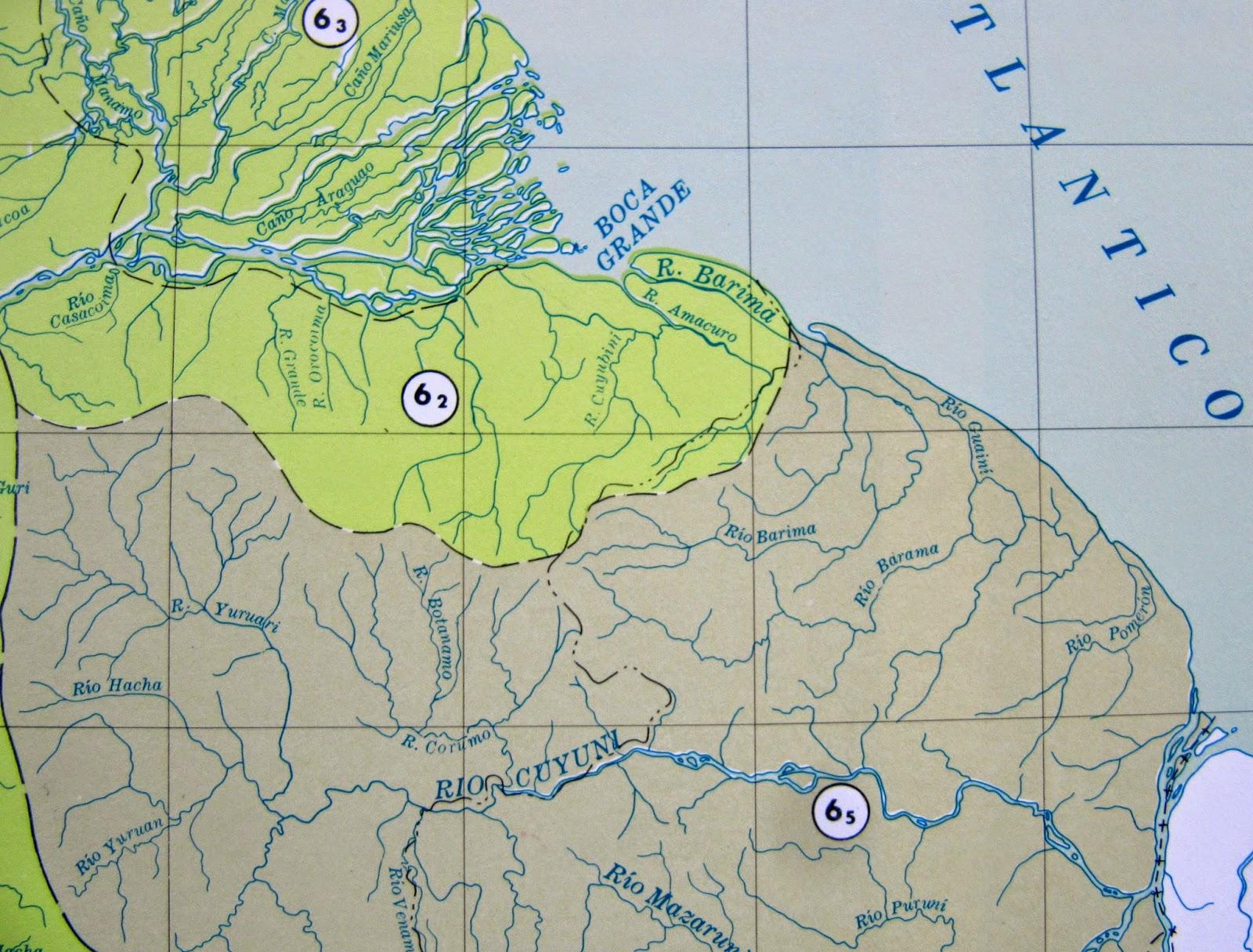 Cartografa de la guayana esequiba junio 2014 una parte del mapa de las cuencas hidrogrficas de venezuela cuenca del ro orinoco bajo orinoco regin delta casacoima orocaima en la que podemos altavistaventures Choice Image