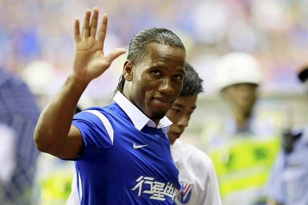 Drogba Joins Anelka at Chinese Soccer Team Shanghai ...
