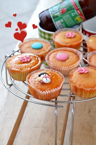 muffin con  concentrato di succo di goji