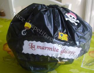 jeu marmite gluante