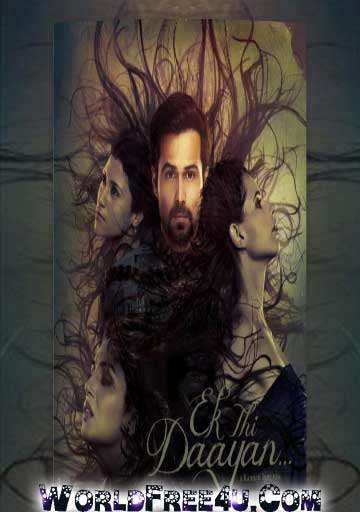 Poster Of Bollywood Movie Ek Thi Daayan (2013) 300MB Compressed Small Size Pc Movie Free Download worldfree4u.com