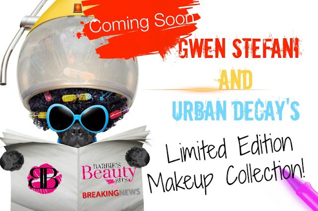 Gwen Stefani And Urban Decay's Limited Edition Makeup Collection, is coming November 22nd, by Barbies Beauty Bits