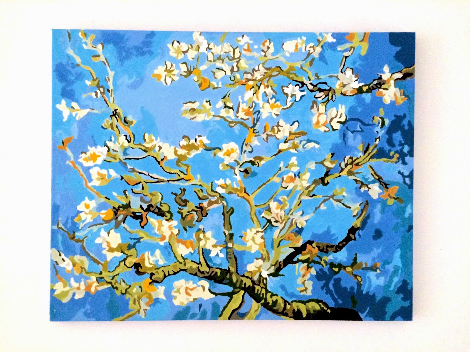 Blossoming Almond Tree Van Gogh Paint by numbers