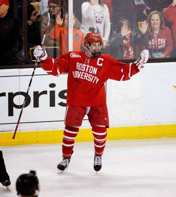 Hockey East: BU Terriers Edge Out NU Huskies In Overtime To Clinch 1st Beanpot Title In 6 Years