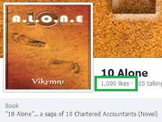 10 Alone - by Vikrmn - 1000 Likes - CA Vikram Verma Author