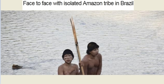 Amazon tribe makes first contact with outside world (VIDEO)