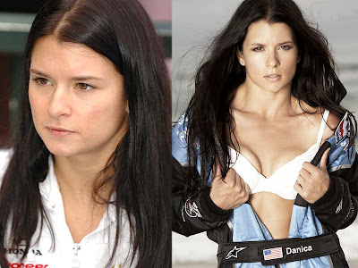 The two sides of Danica Patrick