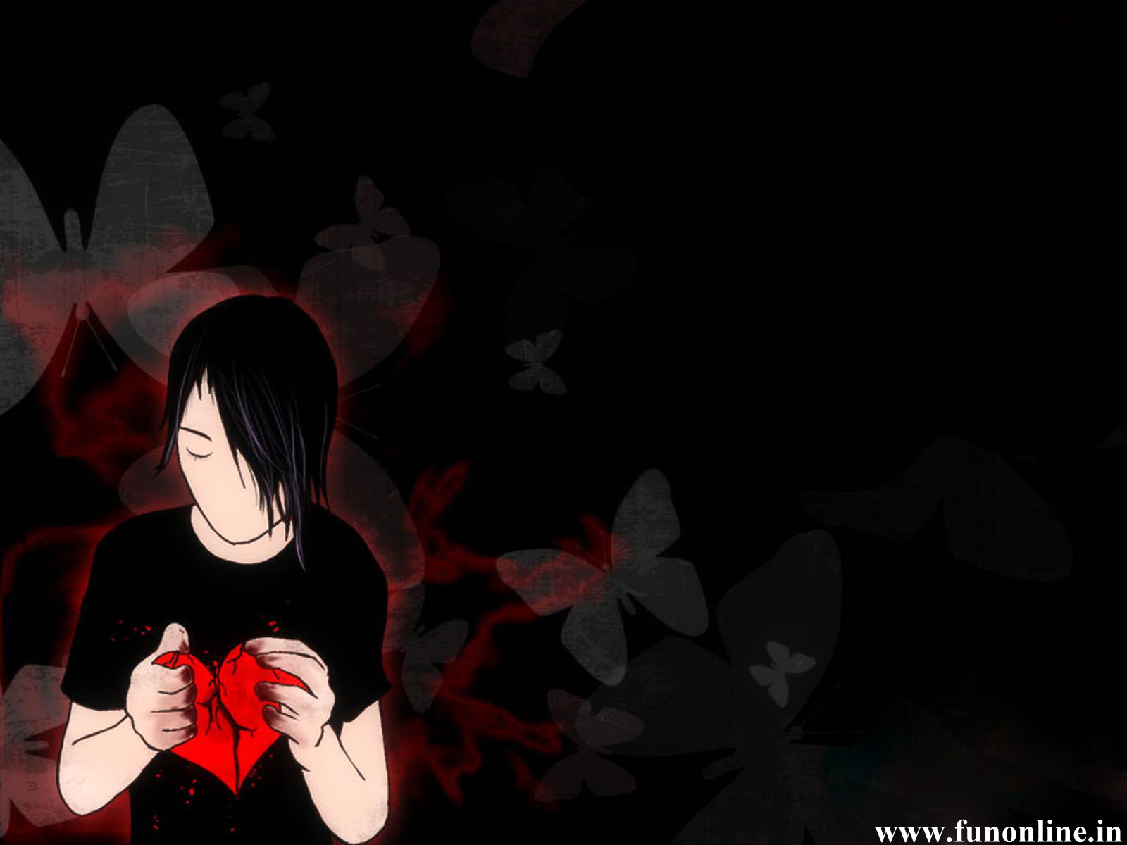 Emo Sad Love Wallpaper : free desktop wallpapers: Sad emo wallpapers