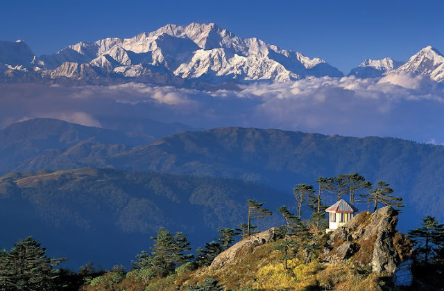 Kanchenjunga (8586m) viewed from Sandakphu, Sikkim