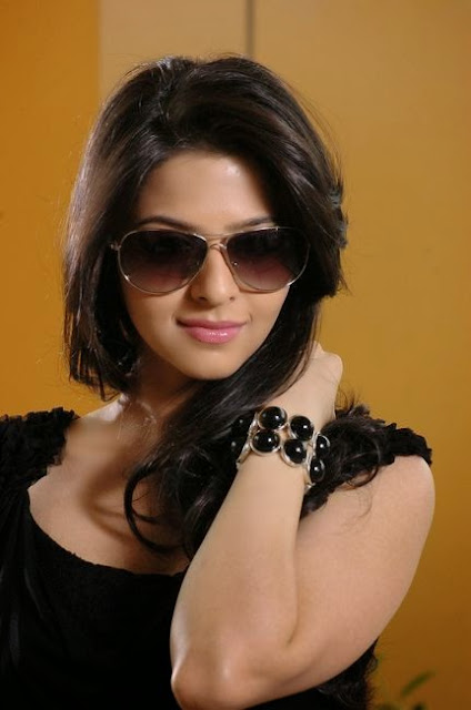 Vedhika In Black Dress
