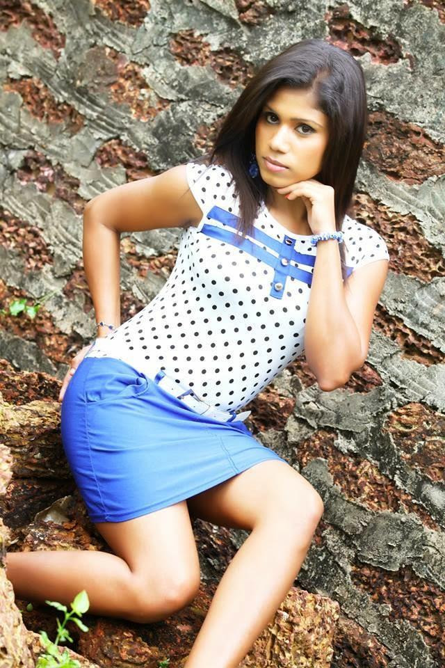Tharaka Probodani sexy sri lanka model