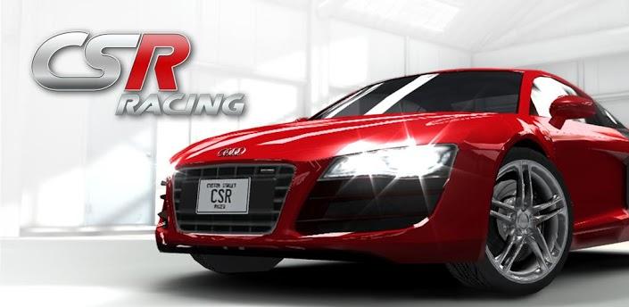 CSR Racing V1.1.5 APK+DATA( Mod : UNLIMITED MONEY)
