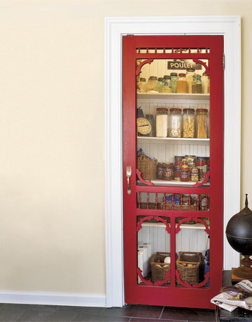 The Farmhouse Porch I Ve Always Wanted A Walk In Pantry And Now Finally Have One Woo Hoo