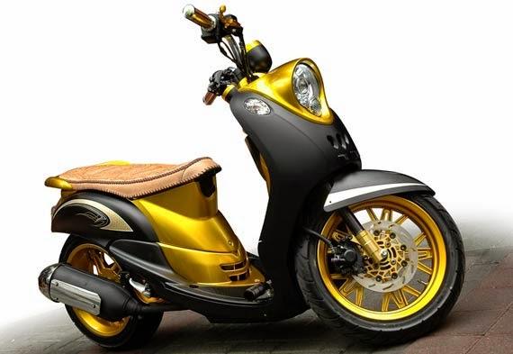 Modifikasi Motor Yamaha Mio Fino Terbaru