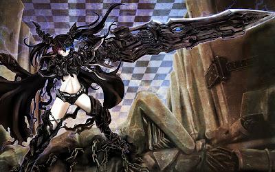 Black Rock Shooter | Anime | Wallpaper | Girl