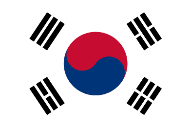 South Korean flag Taegukgi