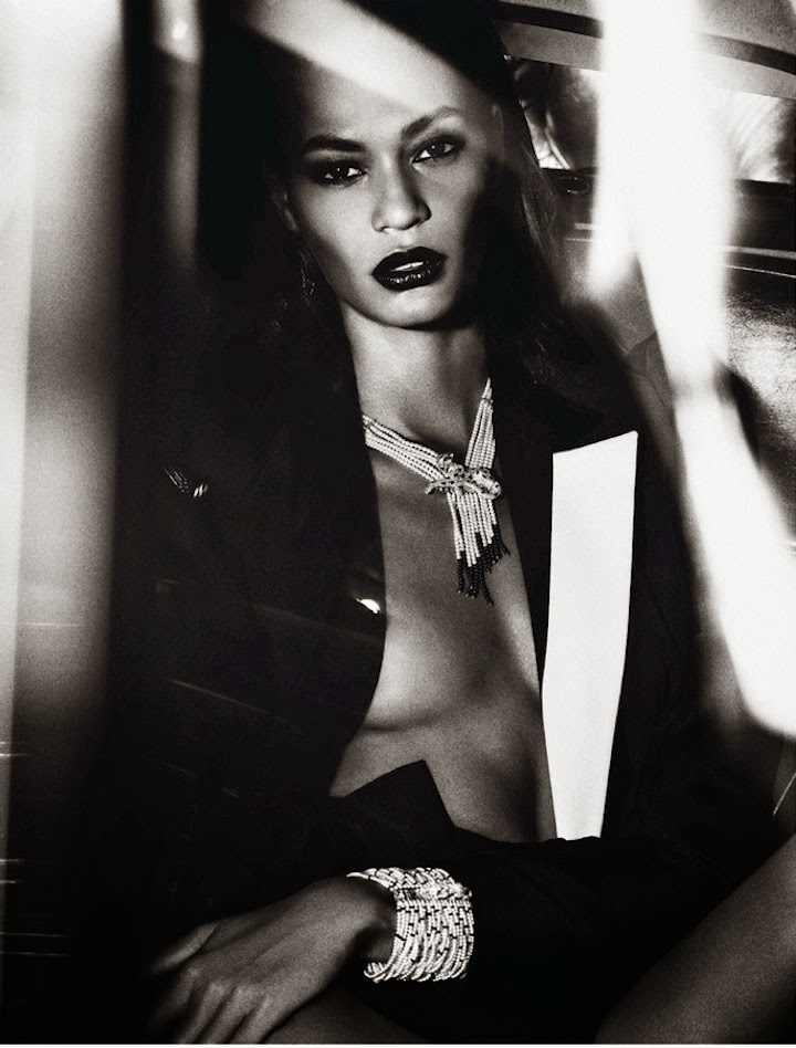 Joan Smalls by Mario Sorrenti, Vogue Paris June 2013